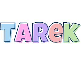 Tarek pastel logo