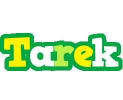Tarek soccer logo
