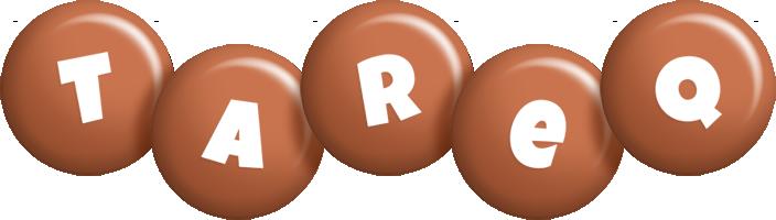Tareq candy-brown logo