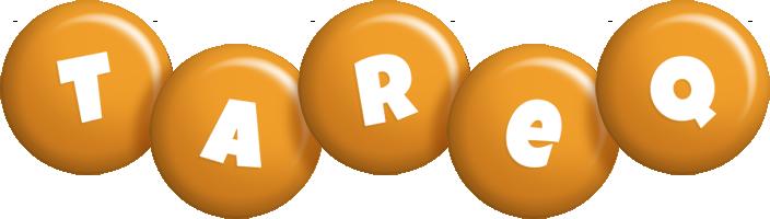 Tareq candy-orange logo