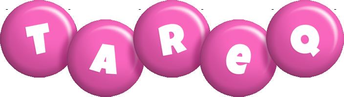 Tareq candy-pink logo