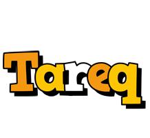 Tareq cartoon logo
