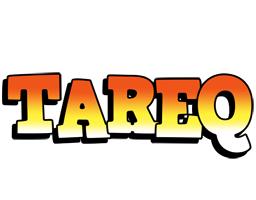Tareq sunset logo