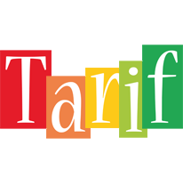 Tarif colors logo