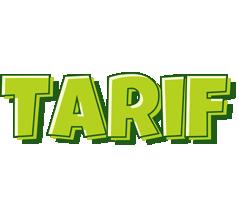 Tarif summer logo
