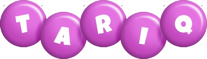 Tariq candy-purple logo