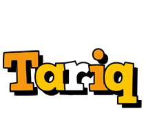 Tariq cartoon logo