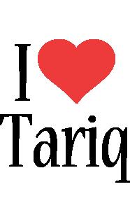 Tariq i-love logo