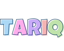 Tariq pastel logo
