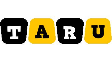 Taru boots logo