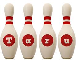 Taru bowling-pin logo