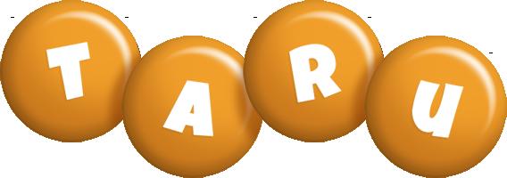 Taru candy-orange logo