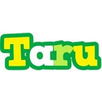 Taru soccer logo
