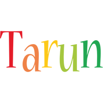 Tarun birthday logo