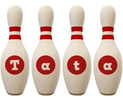 Tata bowling-pin logo