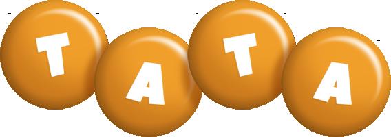Tata candy-orange logo