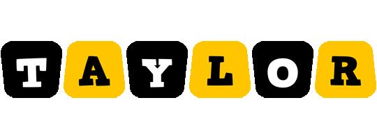 Taylor boots logo