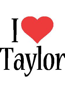 Taylor i-love logo