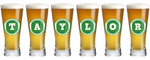 Taylor lager logo