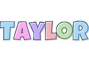 Taylor pastel logo