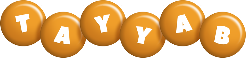 Tayyab candy-orange logo