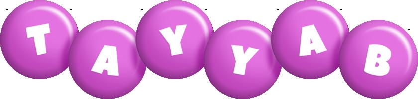Tayyab candy-purple logo
