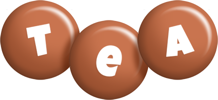 Tea candy-brown logo