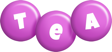 Tea candy-purple logo