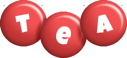 Tea candy-red logo