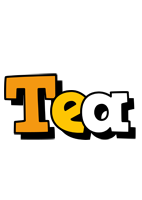 Tea cartoon logo