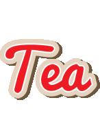 Tea chocolate logo