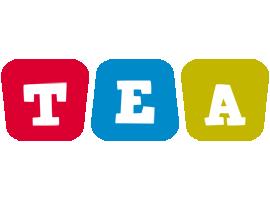 Tea daycare logo