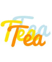 Tea energy logo
