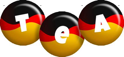Tea german logo