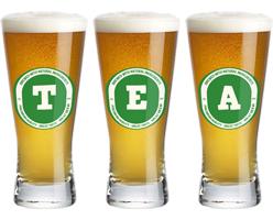 Tea lager logo