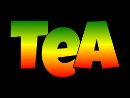 Tea mango logo
