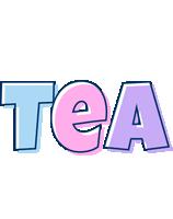 Tea pastel logo