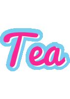 Tea popstar logo