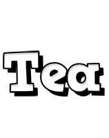 Tea snowing logo