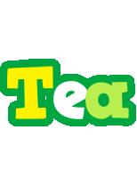 Tea soccer logo