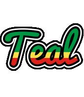 Teal african logo