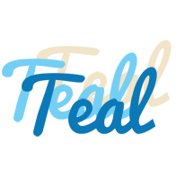 Teal breeze logo