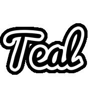 Teal chess logo