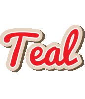 Teal chocolate logo