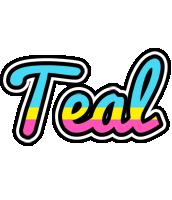 Teal circus logo