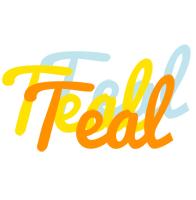 Teal energy logo
