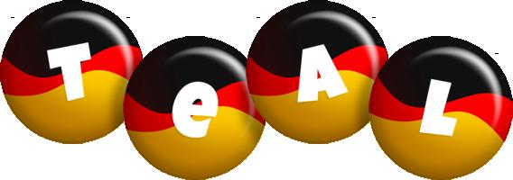 Teal german logo