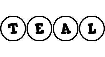 Teal handy logo
