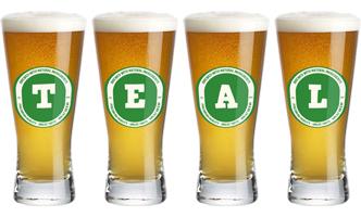Teal lager logo