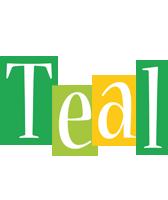 Teal lemonade logo